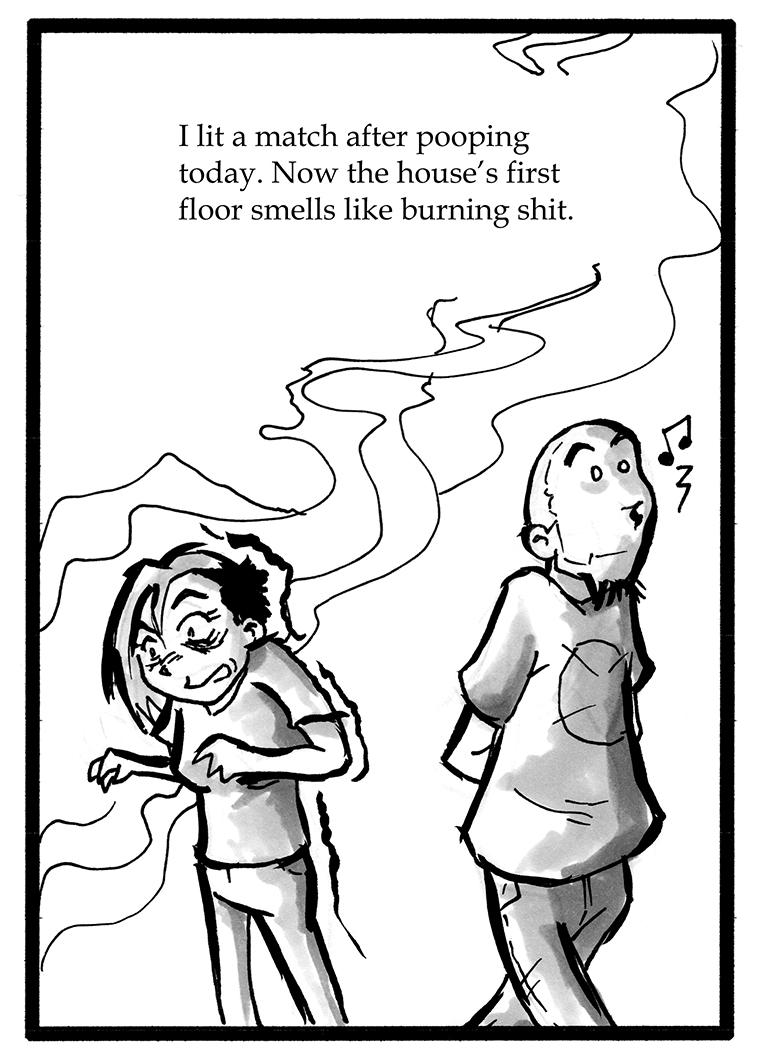121 – Burnt Smells