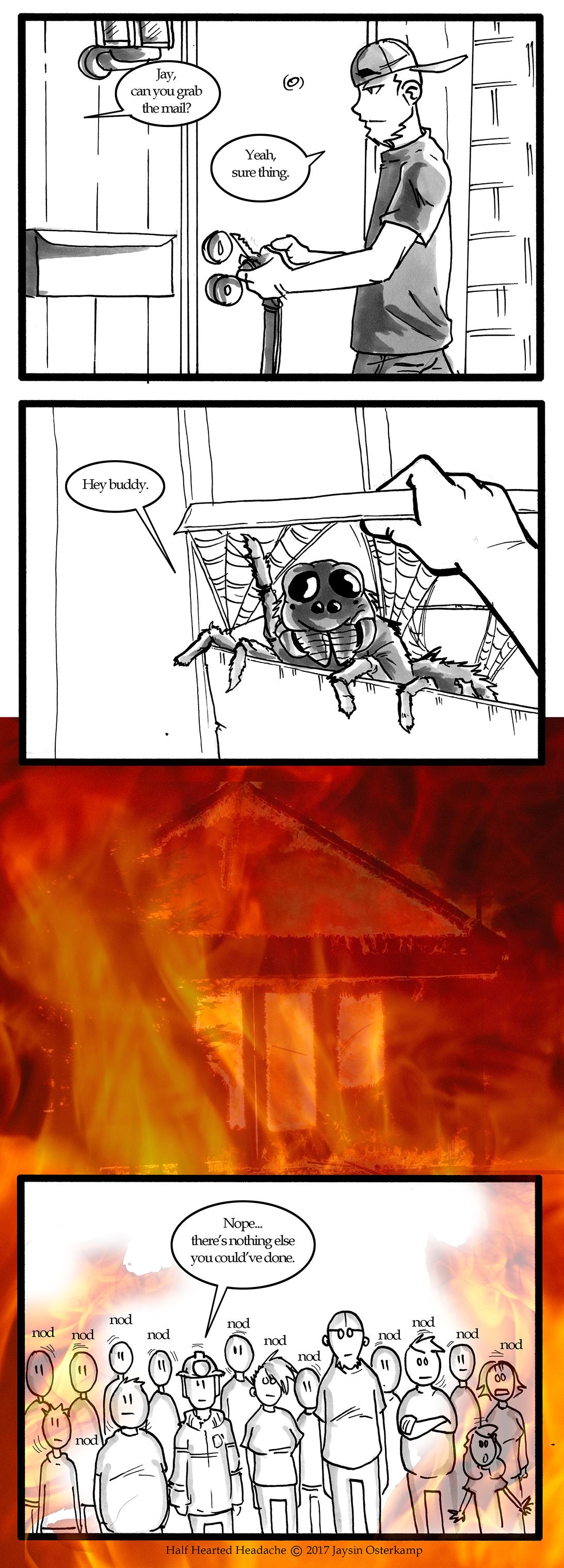 229 – Spider fire