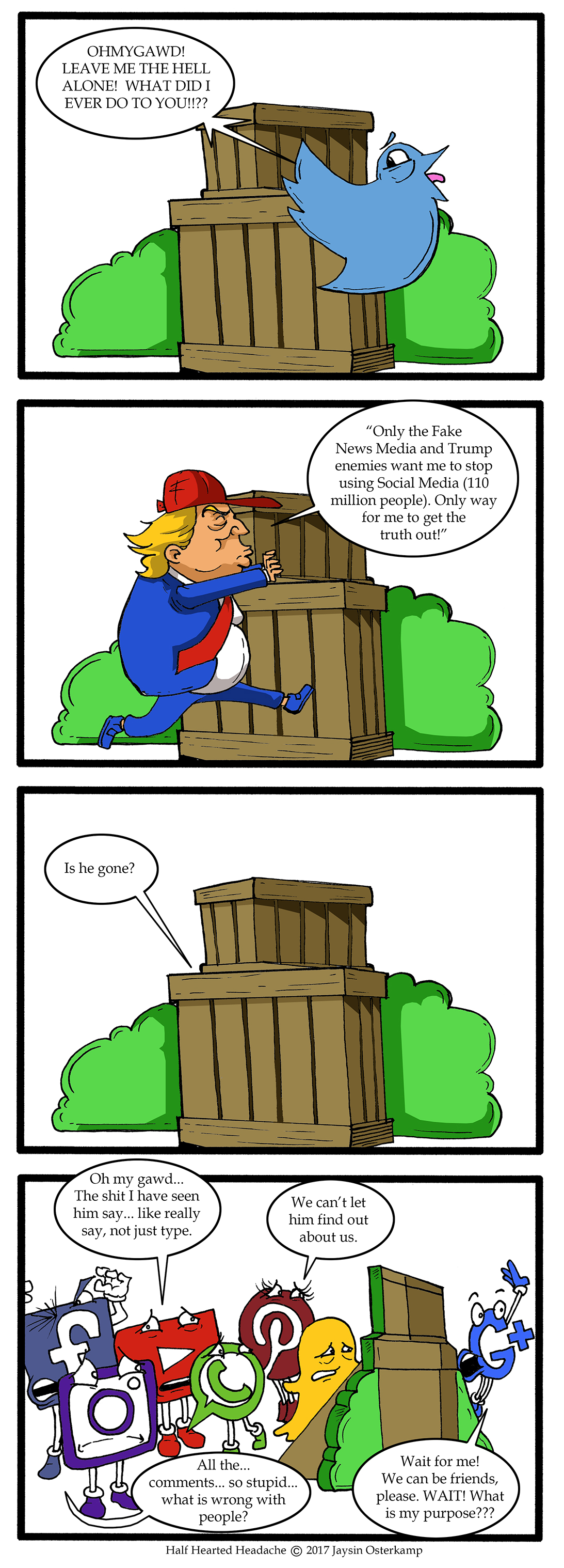 239 – Social media and Trump