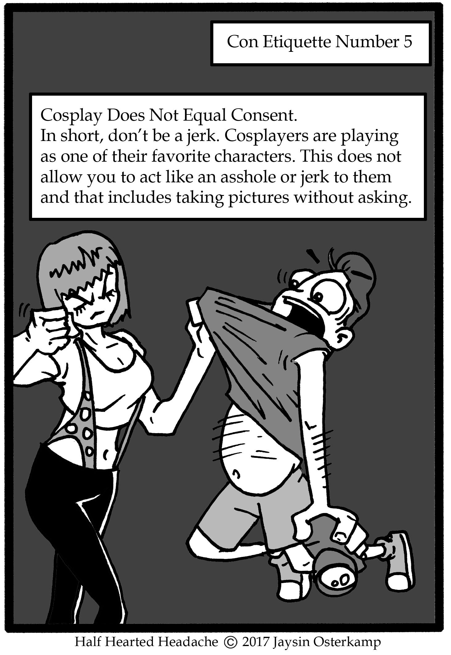 276 – Con Etiquette part 5
