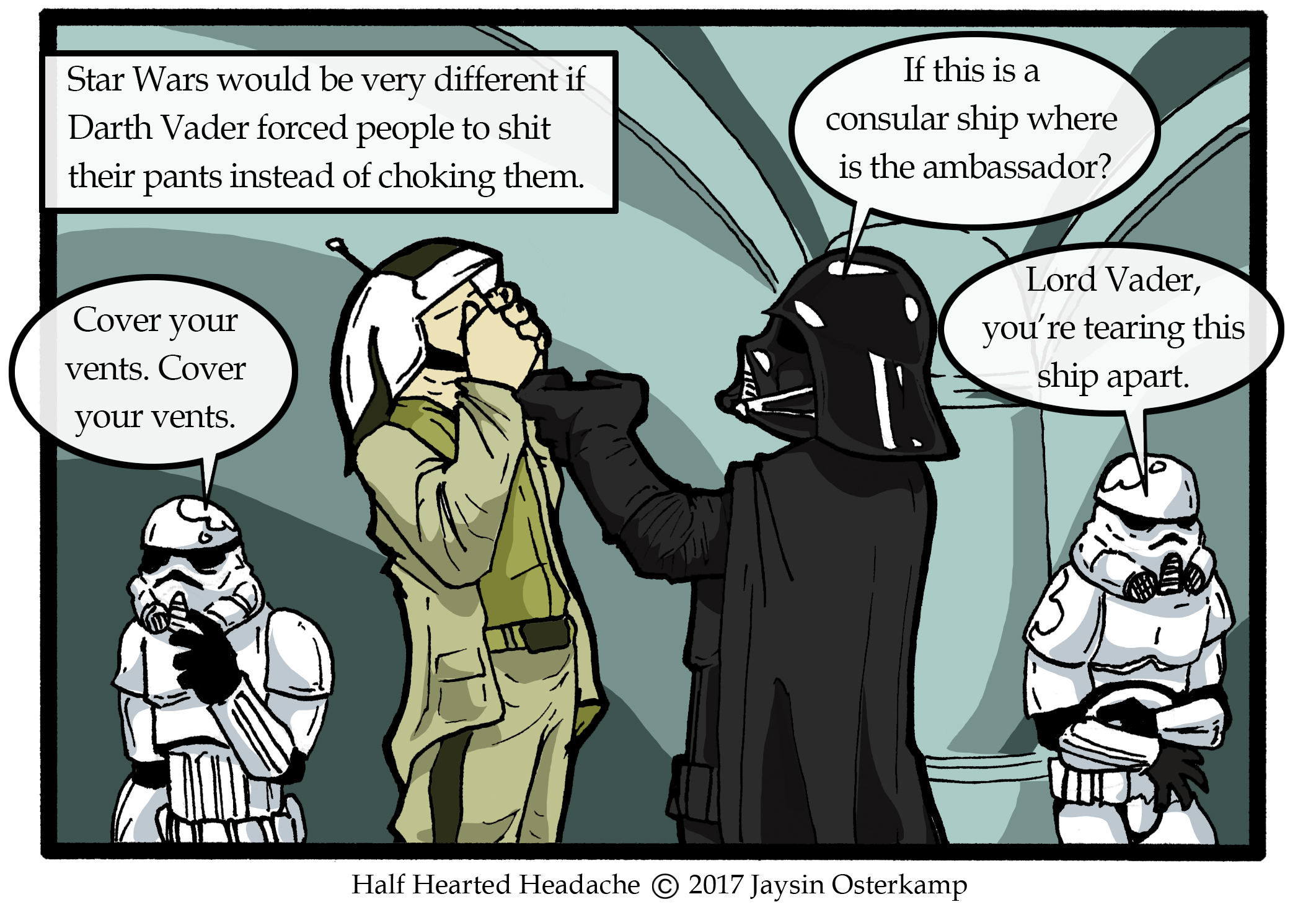 332 – A different kind of Star Wars