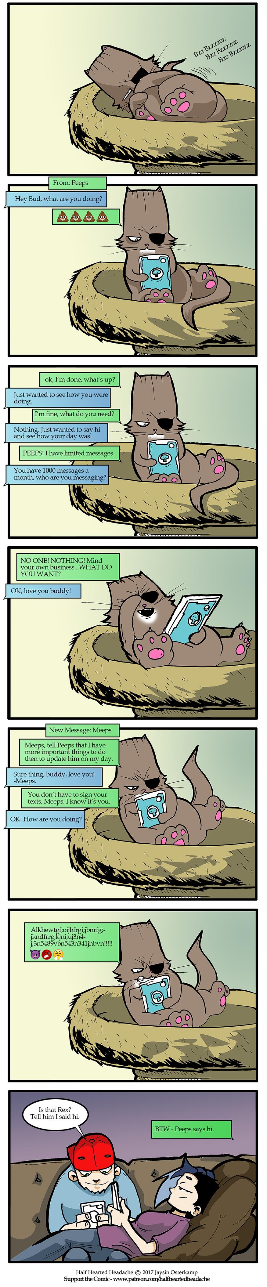 362 – Texting Rex