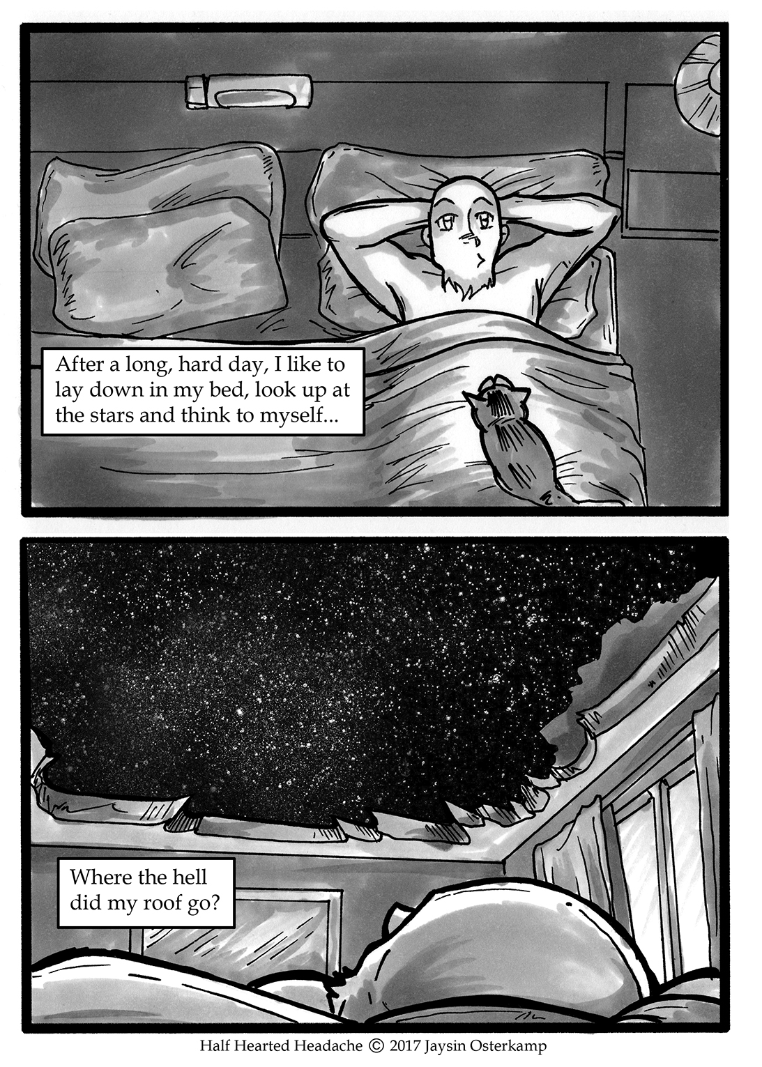 118 – Looking up at the stars