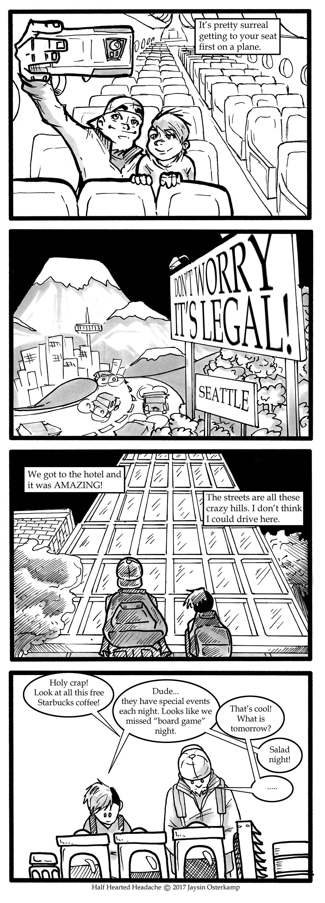 166 – Seattle part 1