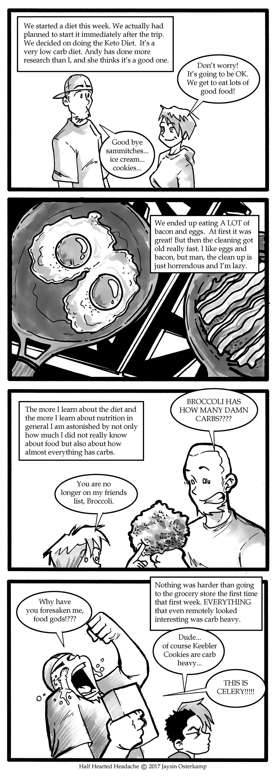215 – Keto diet begins