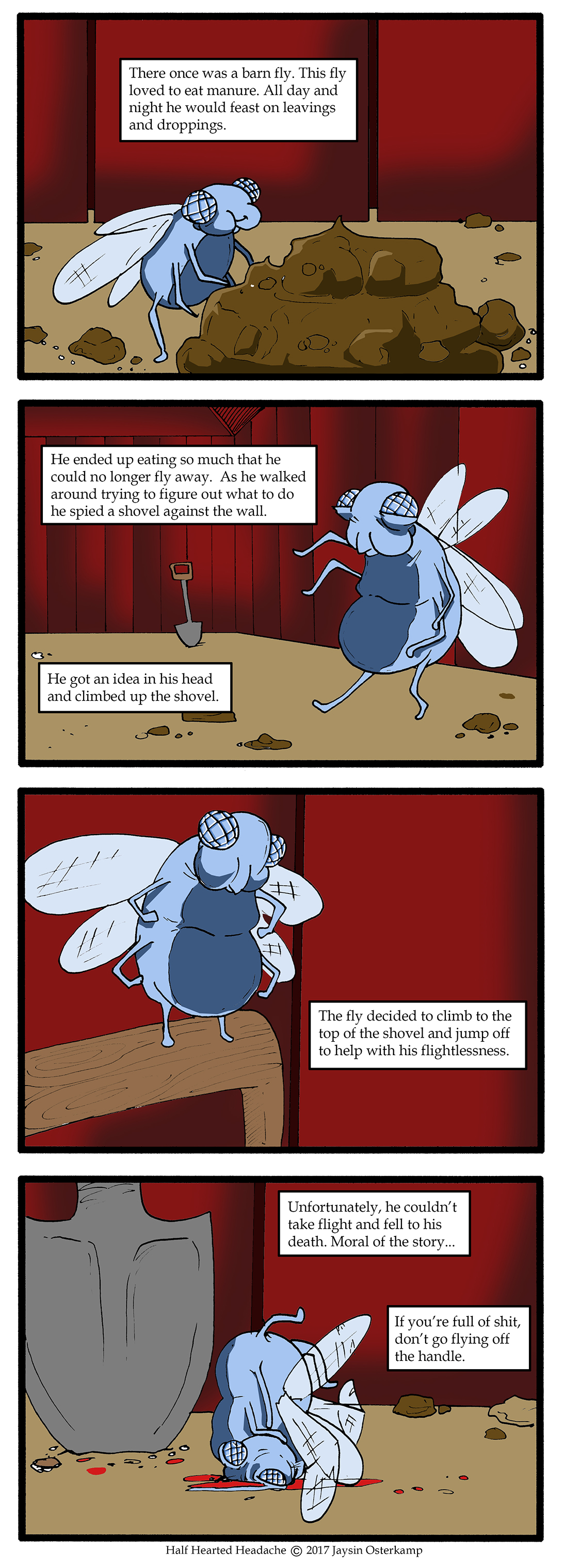 218 – Tale of the Barnfly