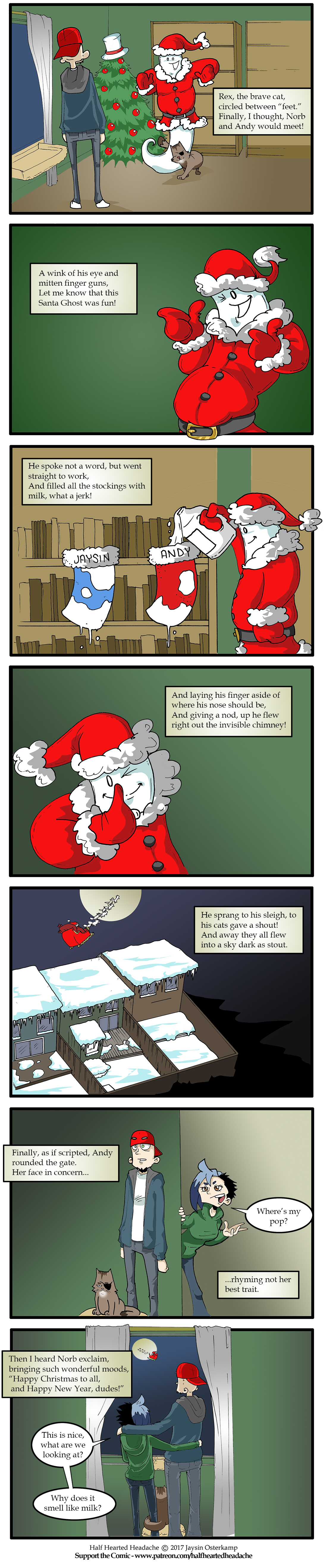 383 – Twas the Night Before Christmas part 3