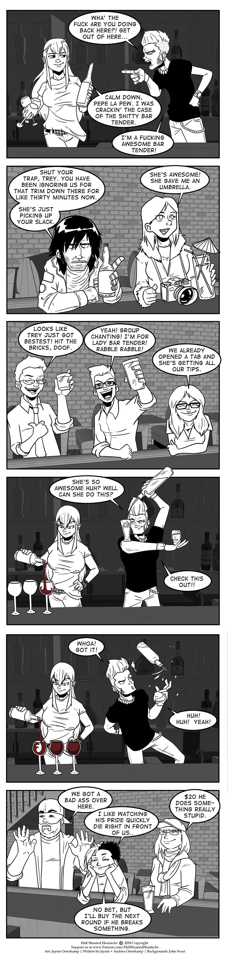 487 – Awesome Bartender
