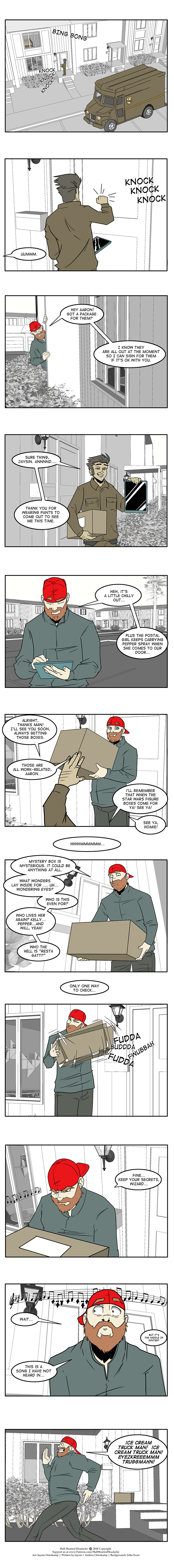 639 – Signing for the Package